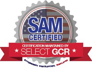 SelectGCR SAM Certified Logo